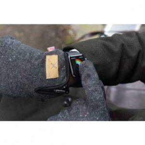 Furnace pro gloves in use landscape